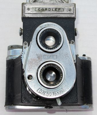 Yashica-44 4x4cm (Roll film 127) TLR Camera with Yashicor 60mm 1:3 ...